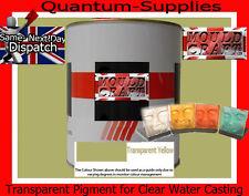 Transparente Amarillo Pigmento 6794 100 g de resina de poliéster / Agua Transparente De Resina