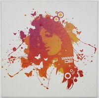 hochwertiger Leinwanddruck - modern Kunstwerk Kunstdruck Bild Gemälde pop art