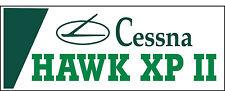 A051 Cessna Hawk XP II Airplane banner hangar garage decor Aircraft signs