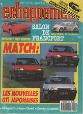 ECHAPPEMENT 228 1987 MVS VENTURI FIAT ABARTH 131 AX SUPERPRODUCTION 1000 LACS