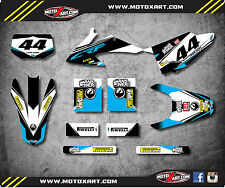 HONDA CRF 150 F - 2008 - 2014 Full Custom Graphic Kit EURO style decals stickers