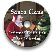 VIRTUAL SANTA CLAUS, FATHER CHRISTMAS PARTIES DVD VIDEO DECORATION TV PROJECTOR