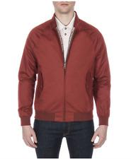 Ben Sherman Harrington Jacket/Russet Brown - Extra Large New AW17
