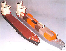 Burt Industries 77101-2 Container or Bulk Carrier Ship 550' Kit N SCALE