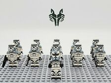 Star Wars Wolfpack Commander Wolffe Set 11pcs Army Lot