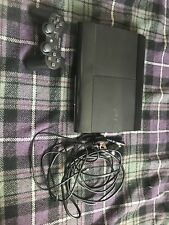 Sony Playstation 3 Super Slim 500GB Black Console + 2 Controllers + 8 Games