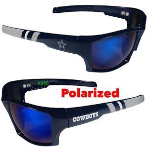 NFL Dallas Cowboys polarized wrap sunglasses-100% UVA / UVB protection