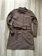 Aquascutum Womens Trench Coat Brown– Size UK 10 Very Good Condition
