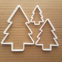 Christmas Tree Decorate Shape Cookie Cutter Dough Biscuit Pastry Fondant Sharp