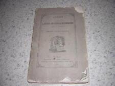1872.catalogue livres anciens librairie Auguste Fontaine