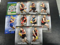 2016 AFL SELECT FOOTY STARS BONUS SET OF 9 CARDS