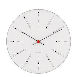 Rosendahl Designer Arne Jacobsen wall clock BANKERS 8,27 inch. Danish Design