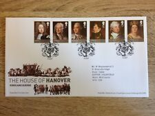 The House of Hanover Kings and Queen. Royal Mail Stamps. First Day Cover..,,2011
