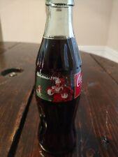 1996 Christmas Coca-Cola bottle vintage Coke Santa