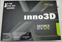 Inno3D GeForce GTX 1070 HerculeZ TWIN X2 8192MB GDDR5 PCI-EXPRESS 8GB HDMI DP
