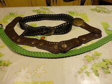 lot de  3 jolies ceintures femme ceintures