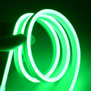 3M Green Waterproof LED Strip Neon Light 2835 SMD Flexible Silicone Tube Roll AU