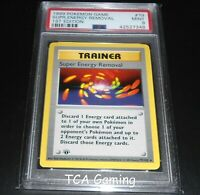 PSA 9 MINT Super Energy Removal 79/102 1ST EDITION Base Set Pokemon Card