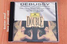 Debussy - Oeuvres Orchestrales Nocturnes Images ... Barenboim - 2 CD DGG
