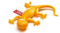 GENUINE Audi Yellow Gecko Air Vent Freshener - 000087009C
