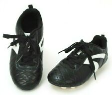 Starter Kids Soccer Cleats Size 2 Youth Black White Trim