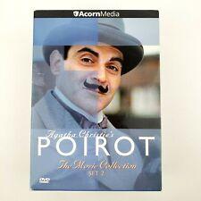 Agatha Christie's POIROT The Movie Collection Set 2 DVD
