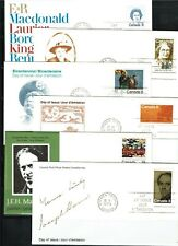 Canada 55 Fdcs from 1973 to 1975 all with cachets, no address, unsealed