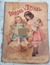 French Antique Child's Book Album Epinal Pellerin Cie Composes - a642-3
