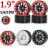 "1.9"" Metal Beadlock Wheel Rim for 1/10 RC Axial SCX10 Traxxas TRX4 RC4WD D90 Car"