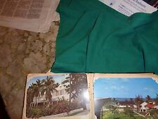 Postcard album-Florida 1940's--44 early postcards