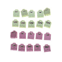 10pcs 3.5mm Female 5 Pins Stereo Headset Interior PCB Mount Audio Jack Socket PF