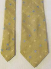 cravate vintage  dunhill soie