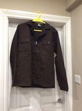 BNWT Mens boiler jacket in Brown size M (euro 38)