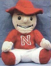 Nebraska University College Beanie Mascot Figure (rare)