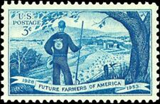 USA 1953 Postage Stamp - Future Farmers of America 1928-1953 -- MNH -- Sc. #1024
