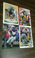 NFL Green Bay Packers Autographed Cards x 4 - Detmer Jacke Noble Holmes