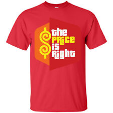 The Price is Right CLASSIC Funny Party Men's T-shirt Tee Many Colors