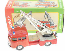 MERCEDES FIRE VEHICLE  TOW TRUCK 1:43 KOVAP TIN TOYS
