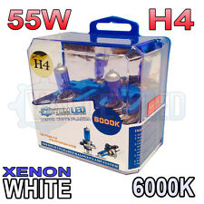 Mini Coupe S D 11-on Xenon White H4 55/60w Halogen Bulbs 6000k (PAIR) 472