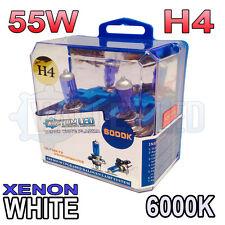 XENON Bianco H4 55 / 60w Lampadine Alogene 6000K (COPPIA) 472 64193