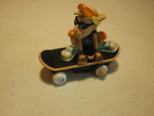 """Tech Deck by Playmates-Pee Wee Radical Skater-1999-4"""" long & 3"""" tall"""
