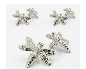 6 x Brass Dragonfly Drawer Knobs - 7 Finishes available