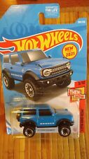 NEW FOR 2021 HOT WHEELS '21 FORD BRONCO THEN AND NOW 3/10 #100 4X4