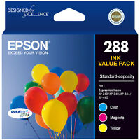 GENUINE Epson 288 3 Colour ink Cartridge XP-240 XP-340 XP-344 XP-440 T305592