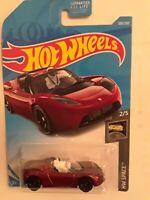 2019 Hot Wheels HW SPACE 2/5 Tesla Roadster With Starman 109/250