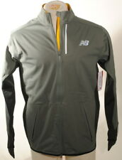 New Balance Slate Green Windblocker Jacket Water Resistant Sz Medium $160 E1A