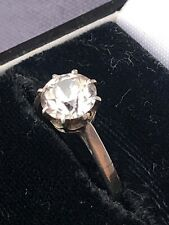 vintage french solitaire ring