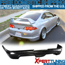 Fits 02 03 04 Acura RSX Coupe Mugen PU Rear Bumper Lip Spoiler Bodykit PU