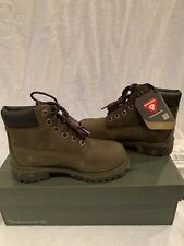 New Timberland 6-Inch Premium Waterproof Olive/Brown  Boots Size 13