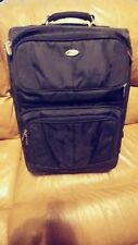"TARGUS 18"" Rolling Carry On  Travel Luggage Suitcase w/Laptop"